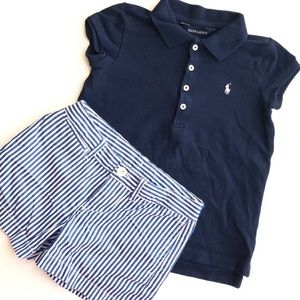 Ralph Lauren Set For Little Girl